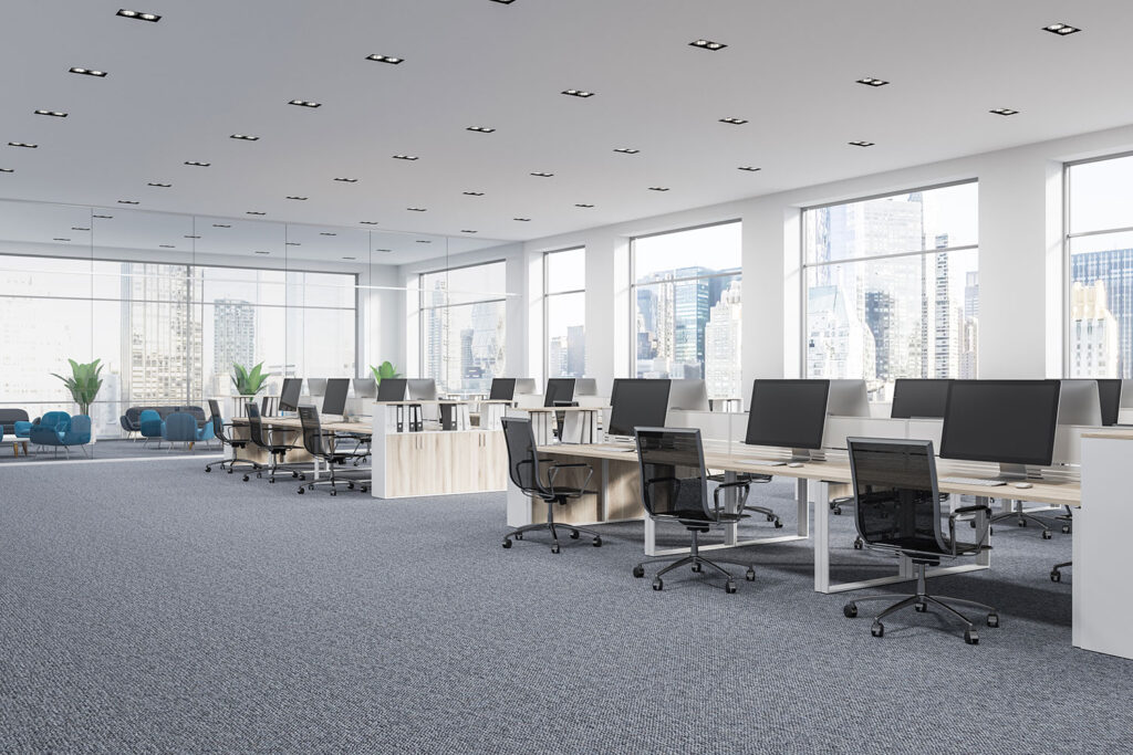 Carpet for office space