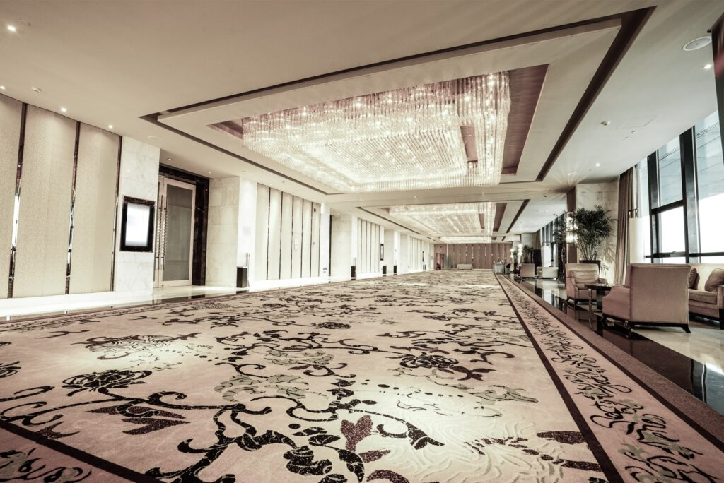 Carpets for Hotels and Hospitality