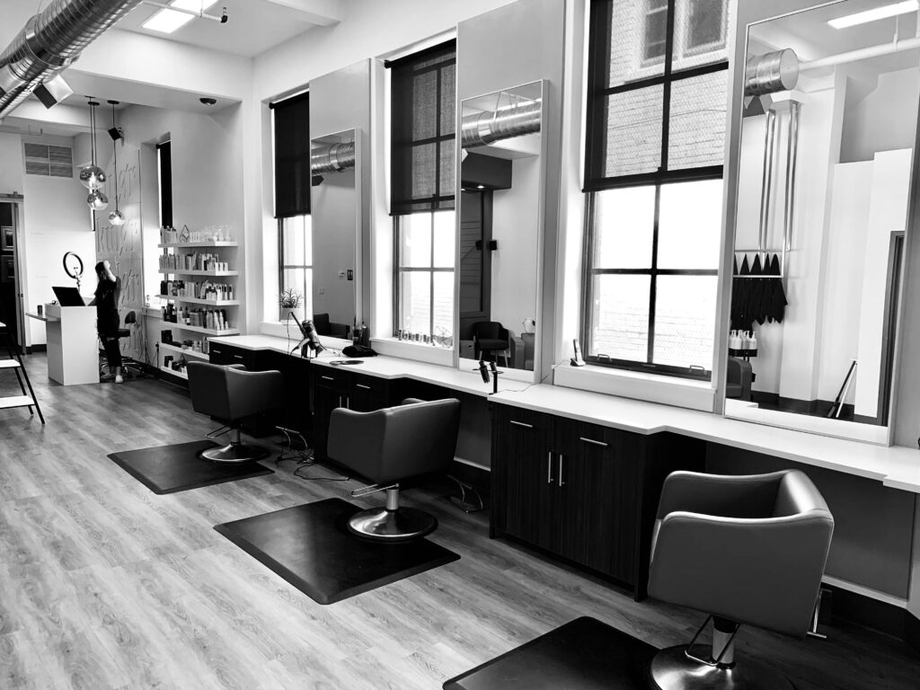 Flooring for spas and salons