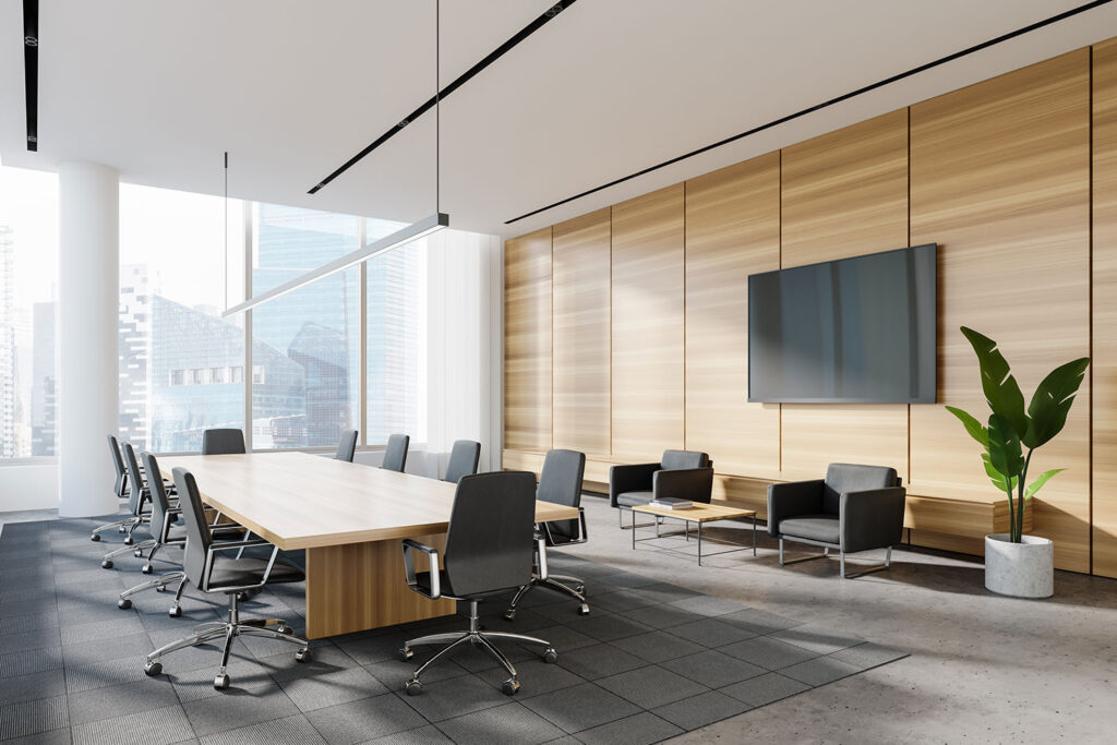 Flooring options for Conference and Meeting Rooms