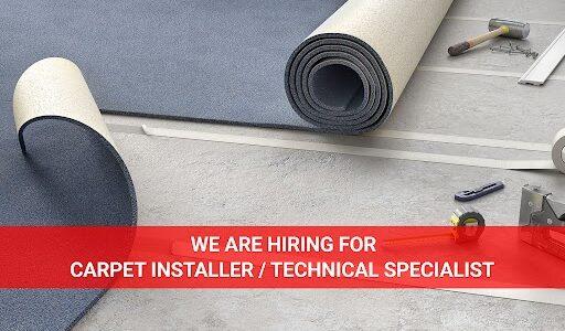 Carpet Installer Job