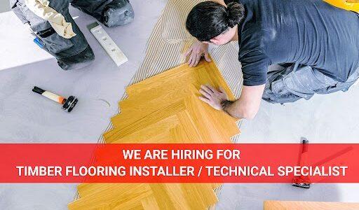 Timber Flooring Job